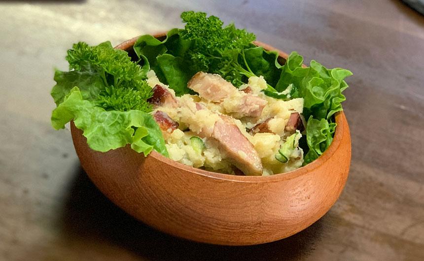 燻製ベーコンポテトサラダ