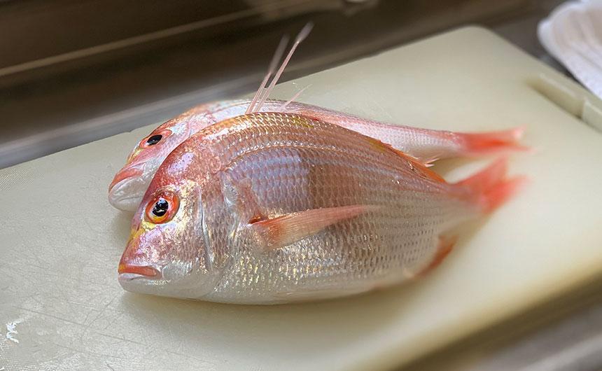 魚の干物 燻製