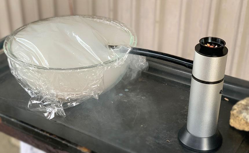 燻製ツナサンド