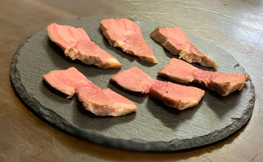 牛タン 燻製