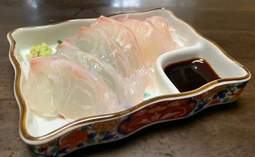 燻製醤油 刺身