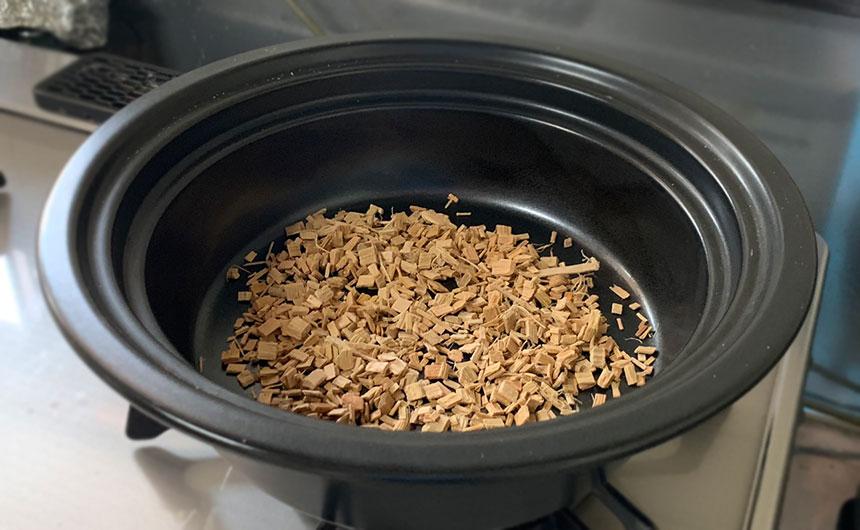 燻製チップ 火の付け方