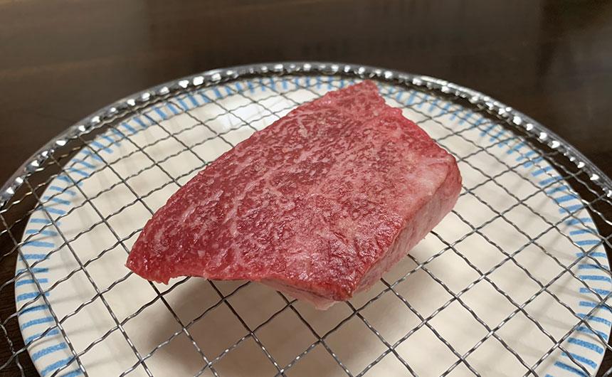 牛ももステーキ 乾燥