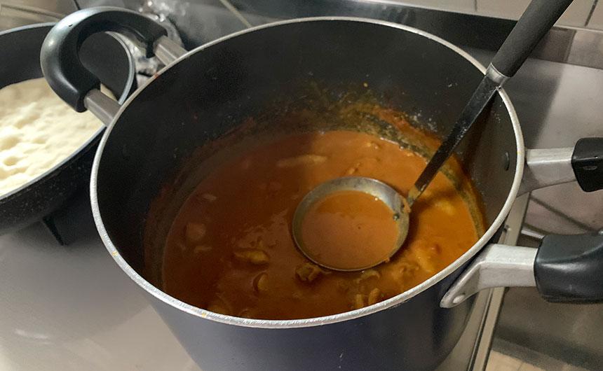 燻製バターチキンカレー